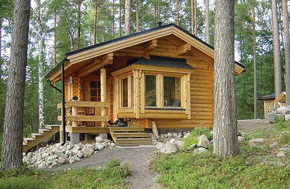3 tipos de caba as de madera casas modernas y baratas - Como se hace una casa de madera ...